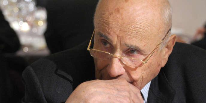 Antoine Bernheim, le 1er décembre 2010.