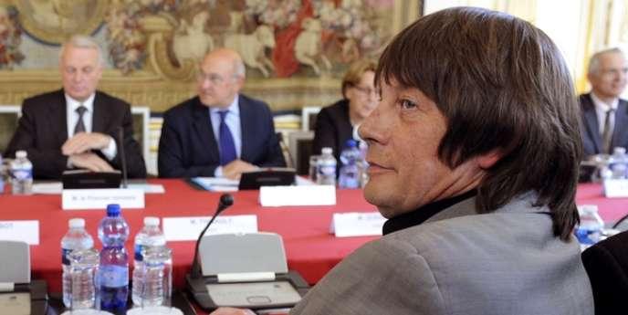Bernard Thibault (CGT) à l'hôtel Matignon, le 5 juin.