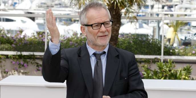 Le délégué général du Festival de Cannes, Thierry Frémaux, à Cannes, le 16 mai 2012.