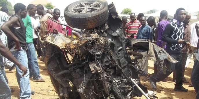 Un attentat à la voiture piégée contre l'église de Yelwa, au Nigeria, le 3 juin, a été revendiqué par la secte islamiste Boko Haram.