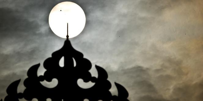 Le transit de Vénus, vu de New Delhi.