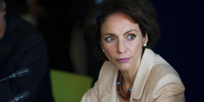 La ministre des affaires sociales, Marisol Touraine, à Matignon, mardi 5 juin.