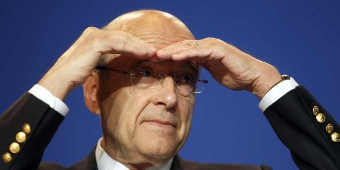 Alain Juppé a été président de l'UMP de 2002 à 2004.