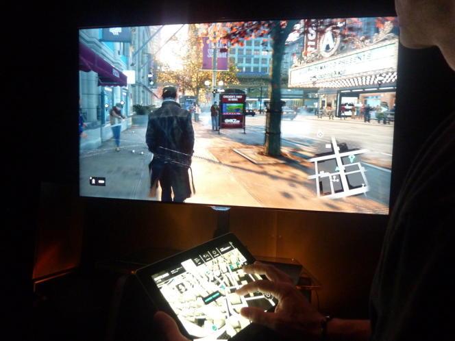 Innovation majeure de Watch Dogs : le joueur pourra s'appuyer sur une tablette tactile pour guider son héros dans l'univers dystopique du jeu.