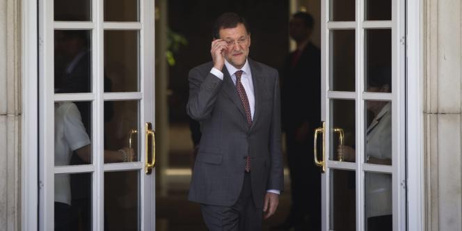 Le président du gouvernement espagnol, Mariano Rajoy, s'est résolu à accepter l'aide européenne.