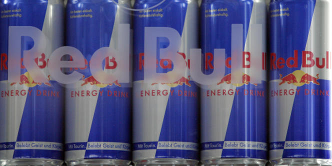 La boisson Red Bull est l'une des principales concernées par cette nouvelle taxe.