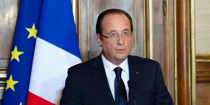 François Hollande, samedi 9 juin.
