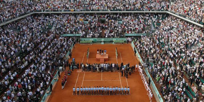 Roland-Garros lors de la finale 2011.
