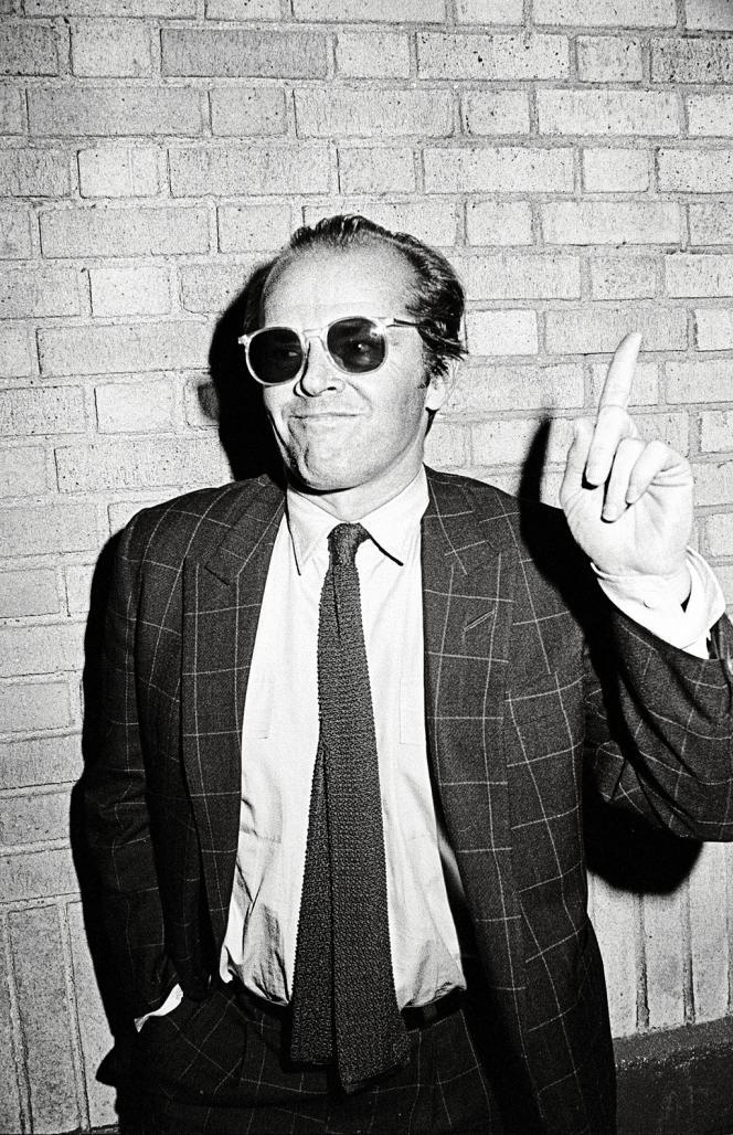 Jack Nicholson en 1981.