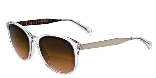 Les lunettes de soleil. Spectacles Yates,  Paul Smith, 280 euros.