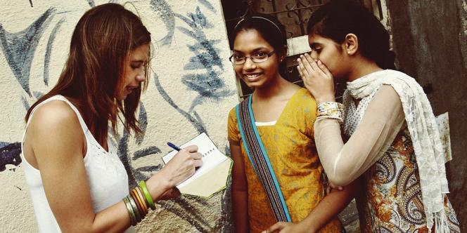 Kalki Koechlin à Bombay, 21 avril 2012.