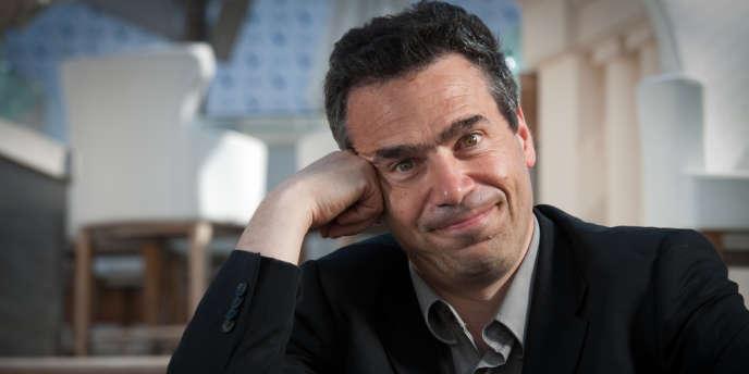 Serge Bromberg, directeur du Festival international du film d'animation d'Annecy, à Cannes, le 10 mai 2011.