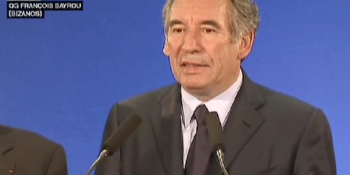 Pour François Bayrou, les électeurs du Modem ont été