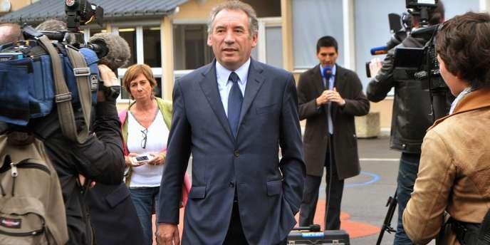 Le président du MoDem, François Bayrou, à Pau (Pyrénées-Atlantiques), en juin 2012.