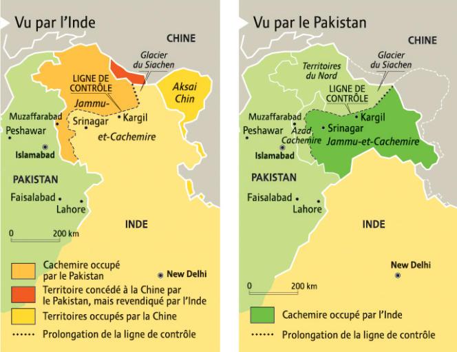 Carte extraite de l'Atlas du Monde diplomatique, Un monde à l'envers, Paris, 2009.