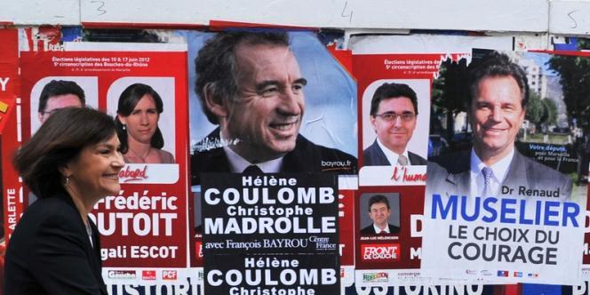 Marie-Arlette Carlotti a devancé au premier tour des législatives le député sortant de la 5e circonscription des Bouches-du-Rhône, Renaud Muselier.