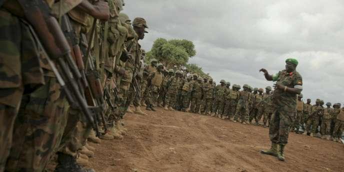 La force de l'Union africaine en Somalie (Amisom), essentiellement composée de soldats ougandais et burundais, a contraint les chabab à abandonner Mogadiscio en août.