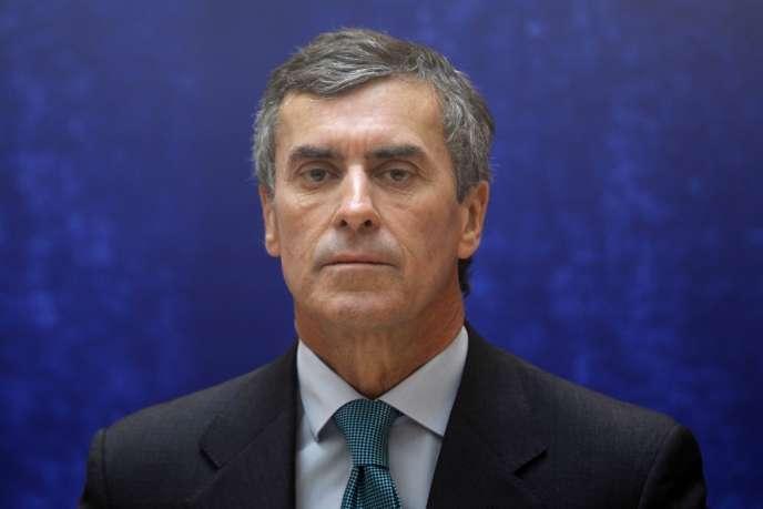 Le ministre délégué au budget, Jérôme Cahuzac, le 17 mai.