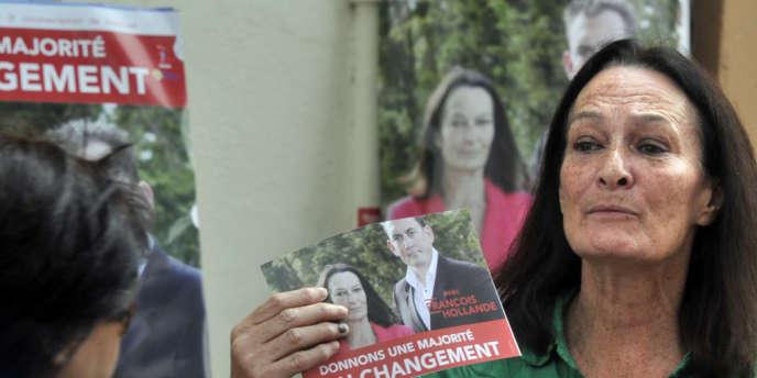 Catherine Arkilovitch a choisi de se maintenir dans la 3e circonscription du Vaucluse malgré la consigne de retrait édictée par le PS.