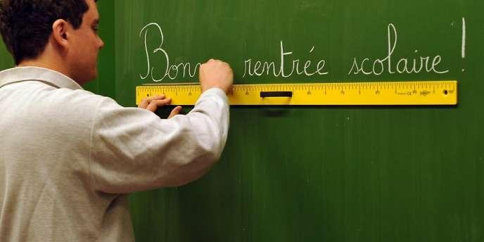 Le ministre de l'éducation, Vincent Peillon, a assuré sur Europe 2 qu'il n'y avait