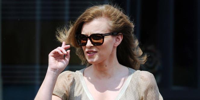 Valérie Trierweiler, le 20 mai 2012 à Chicago.