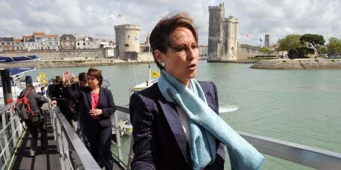 Ségolène Royal a reçu mardi 12 juin à La Rochelle, le soutien de la première secrétaire du Parti socialiste, Martine Aubry.