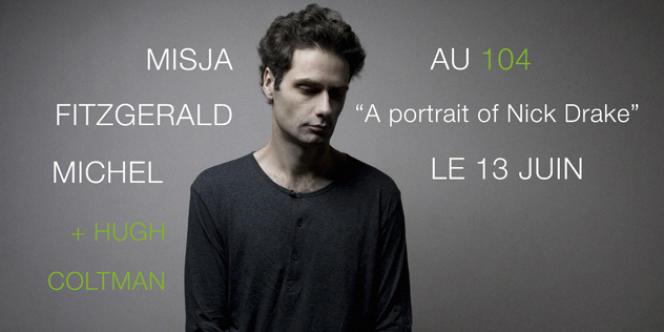 Visuel du concert de Misja Fitzgerald-Michel au 104 à Paris, le 13 juin 2012.