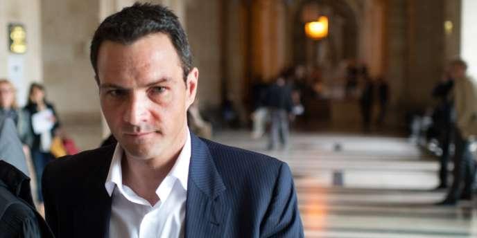 Jérôme Kerviel au Palais de justice de Paris, en juin 2012.