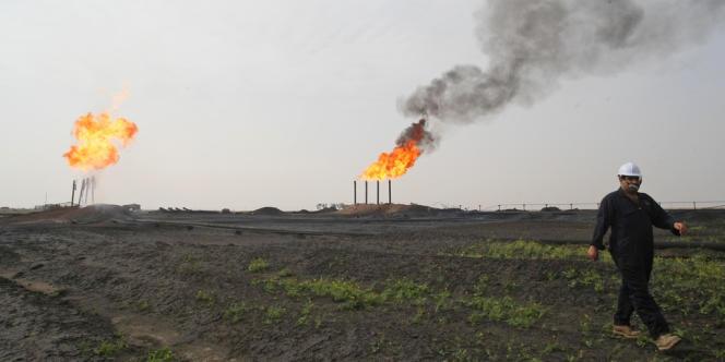 Raffinerie dans le sud irakien.