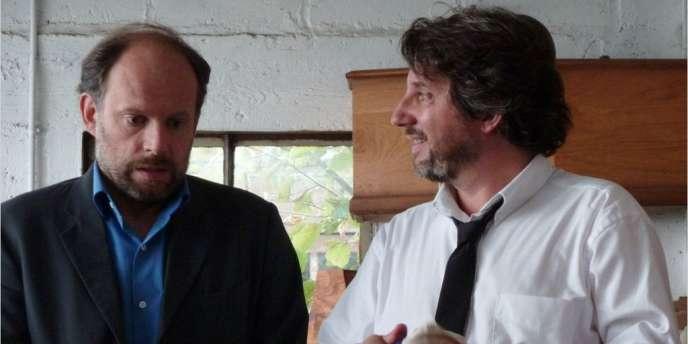 Denis et Bruno Podalydès dans le film français de Bruno Podalydès,