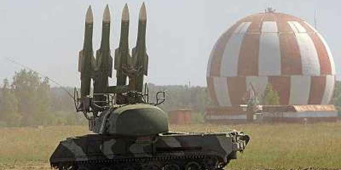La Russie a, entre autres, livré des missiles Buk-M2 à la Syrie en 2010.