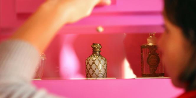 Au Musée international de la parfumerie de Grasse.