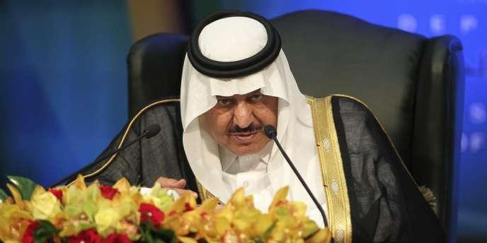 Le Prince Nayef, le 1er novembre 2011.