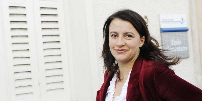 Cécile Duflot, secrétaire nationale d'EELV et ministre du logement, le 17 juin à Paris.