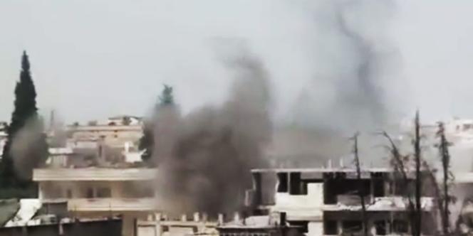 Bombardement sur Rastane, le 17 juin.