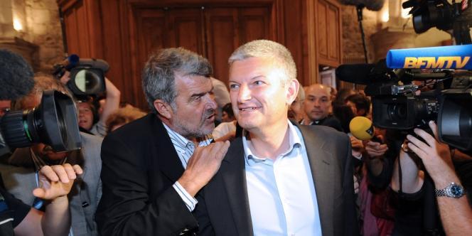 Olivier Falorni après l'annonce de sa victoire, le 17 juin.