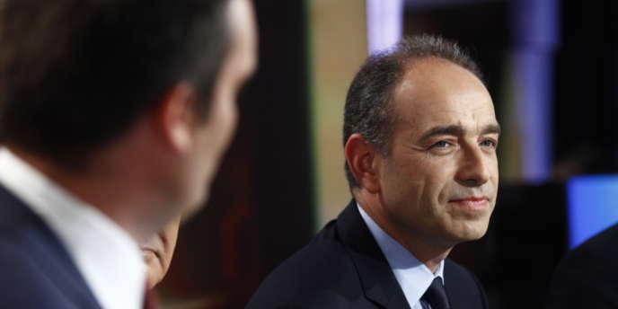 Jean-François Copé, lors de la soirée électorale, le 17 juin.