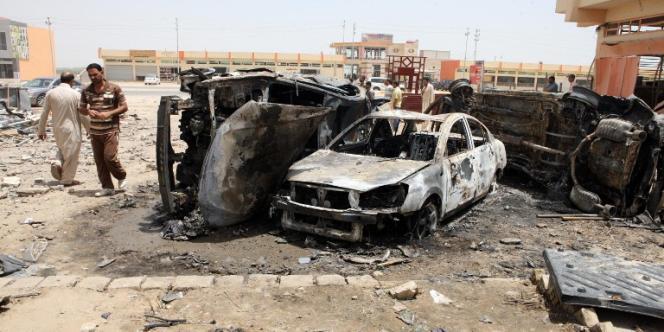 Attentat à la bombe le 13 juin 2012 à Khaldiya en Irak.