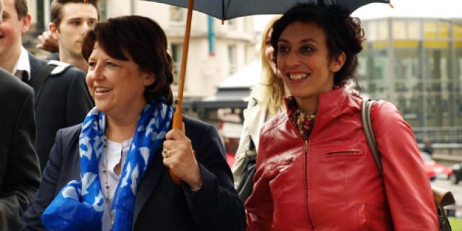 Chaynesse Khirouni a été élue députée dans la 1re circonscription de Meurthe-et-Moselle. A Nancy, elle rassemble 55 % des suffrages.