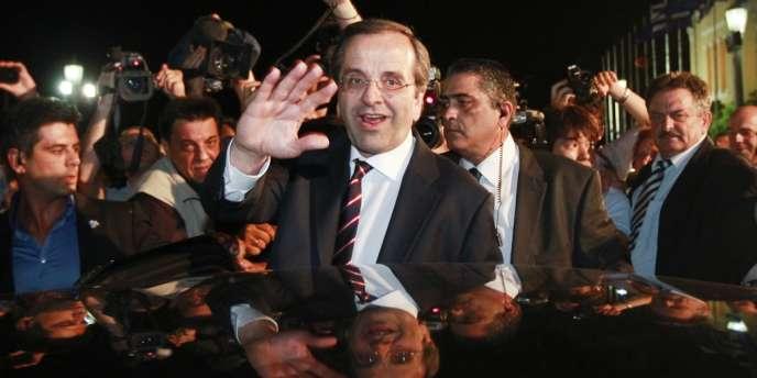 Le leader du parti conservateur Nouvelle Démocratie, Antonis Samaras, a été chargé de former le nouveau gouvernement grec le 20 juin.
