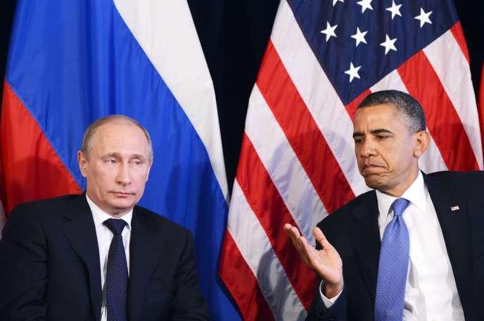 Vladimir Poutine et Barack Obama ont eu un entretien dimanche16mars, après la diffusion des résultats en Crimée.