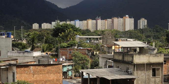 La favela de Vila Autodromo, à Rio de Janeiro.