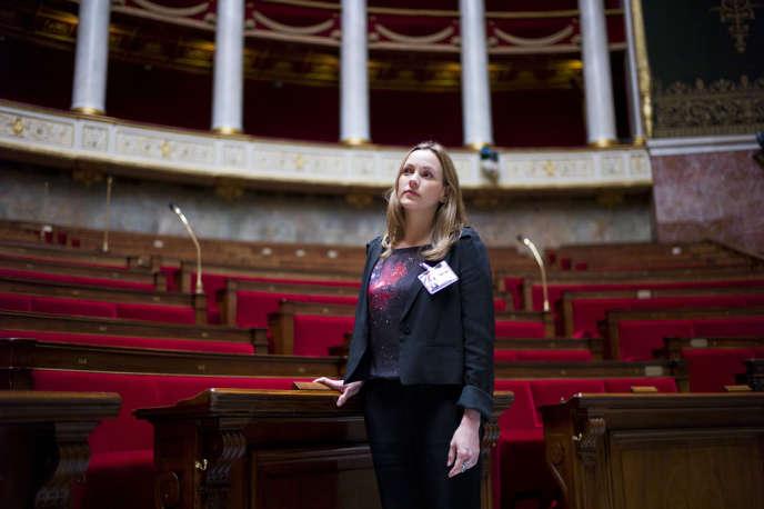 Axelle Lemaire, députée socialiste pour l'Europe du Nord à l'Assemblée nationale, le 19 juin.
