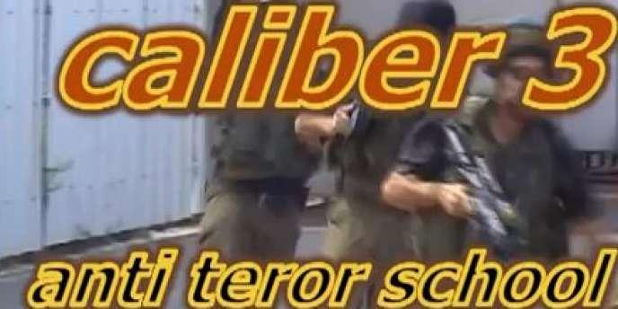 Caliber 3, un camp de tir à Gush Etzion, au sud de Jérusalem, en Cisjordanie, dispense depuis 2007 des cours d'antiterrorisme.