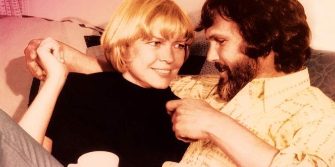 Ellen Burstyn et Kris Kristofferson dans le film américain de Martin Scorsese,