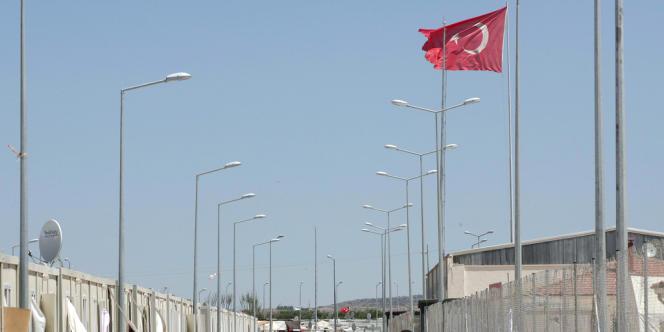 Camp de réfugiés syriens de Kilis en Turquie.