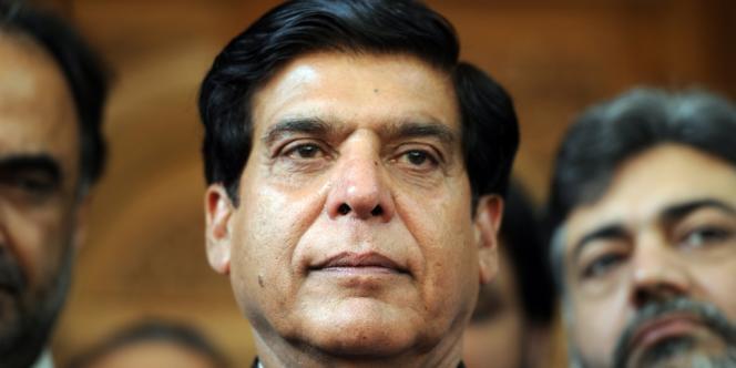 Raja Pervez Ashraf a été investi au poste de premier ministre du Pakistan par l'Assemblée nationale, le 22 juin 2012.