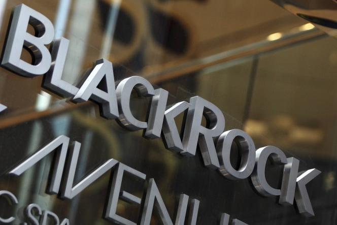 Le siège de BlackRock à New York.