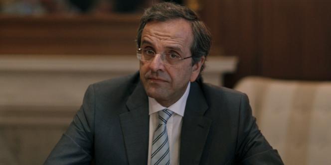 Le premier ministre grec, Antonis Samaras, en juin.