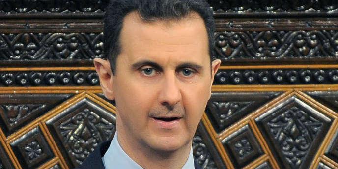 Le président syrien Bachar Al-Assad, le 3 juin 2012.